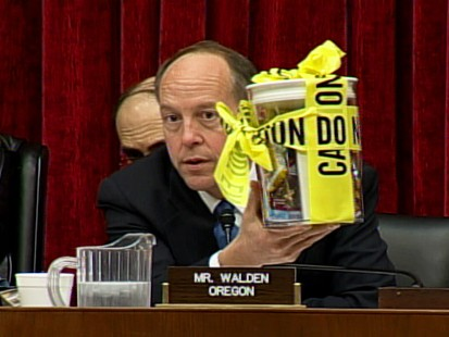 Peanut Co. President Refuses to Testify on Capitol Hill and is Quickly Dismissed