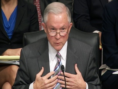 Video: Sen. Jeff Sessions R-AL., questions Kagan on military recruiting.