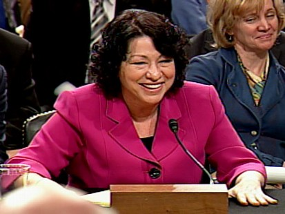 Video of the best and worst moments from Sonia Sotomayors Senate confirmation hearings.