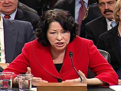 ABC News video of Sonia Sotomayor confirmation hearings.