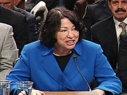 ABC News video of Sotomayors confirmation hearings.