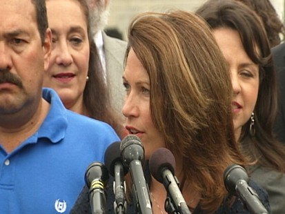 Video: Rep. Michele Bachmann, R-Minn., creates Tea Party caucus.