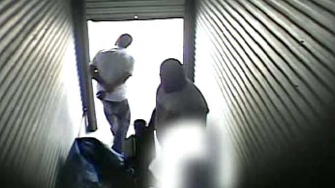 Video: Homegrown terrorists caught on tape.