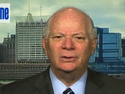 Video of Senator Ben Cardin on Top Line.