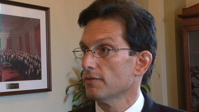 VIDEO: Eric Cantor: I Dont Question Timothy Geithner