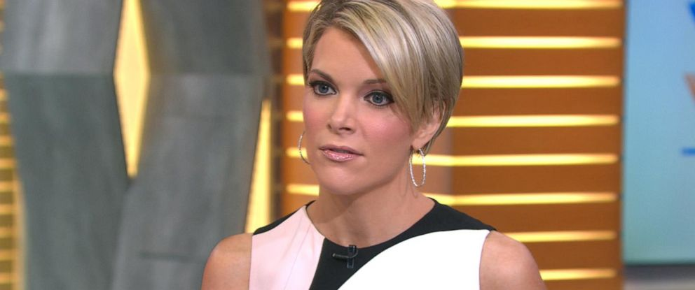 """PHOTO:Megyn Kelly discusses Donald Trump on """"Good Morning America"""" in New York, May 16, 2016."""