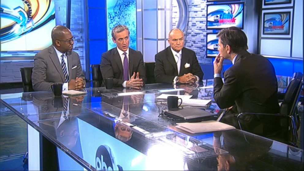 ABC News Senior Justice Correspondent Pierre Thomas, ABC News Legal Analyst Dan Abrams, and ABC News Contributor and former New York City Police Commissioner Ray Kelly discuss the unrest in Baltimore on 'This Week'