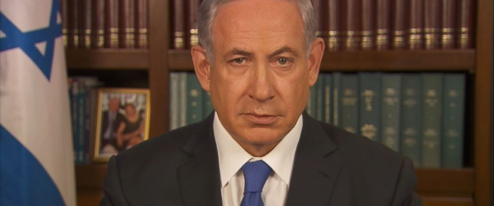 PHOTO: Israeli Prime Minister Benjamin Netanyahu on This Week
