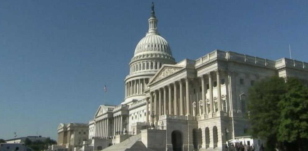 PHOTO: An exterior view of the Capitol building in Washington.