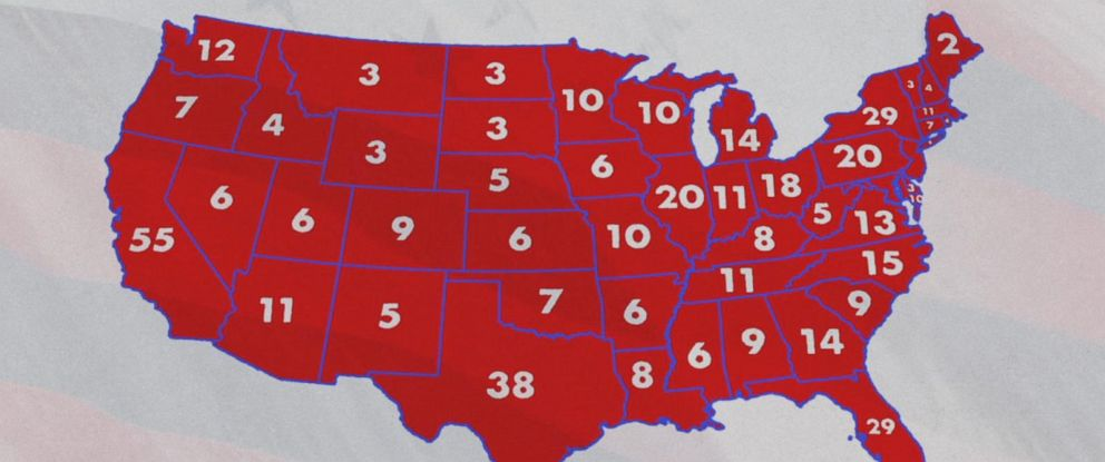 PHOTO: The electoral college process is dependent on the votes of certain electors in each state.