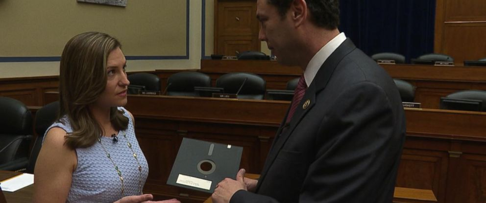 PHOTO: ABC News spoke with U.S. Rep. Jason Chaffetz, about a new GAO report finding that the U.S. spends most of its tech budget maintaining aging computers and systems that still use floppy disks.