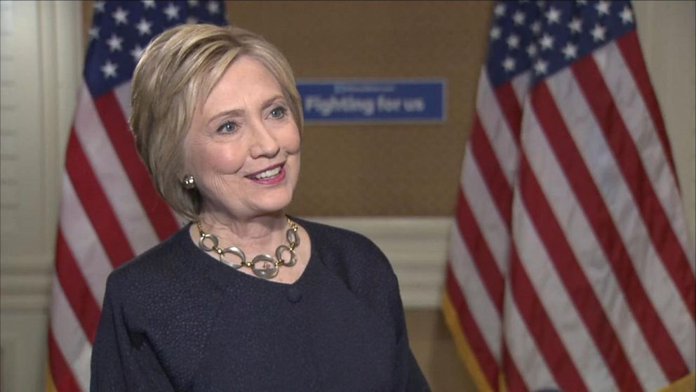 hillary clinton doubles down on email scandal saying it was