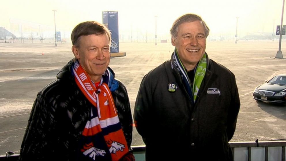 Governor Jay Inslee (D) Washington and Governor John Hickenlooper (D) Colorado on 'This Week'
