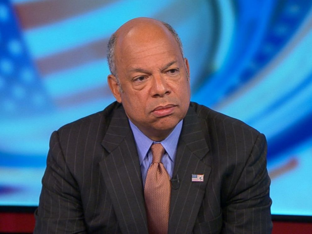 PHOTO: Department of Homeland Security Secretary Jeh Johnson on This Week