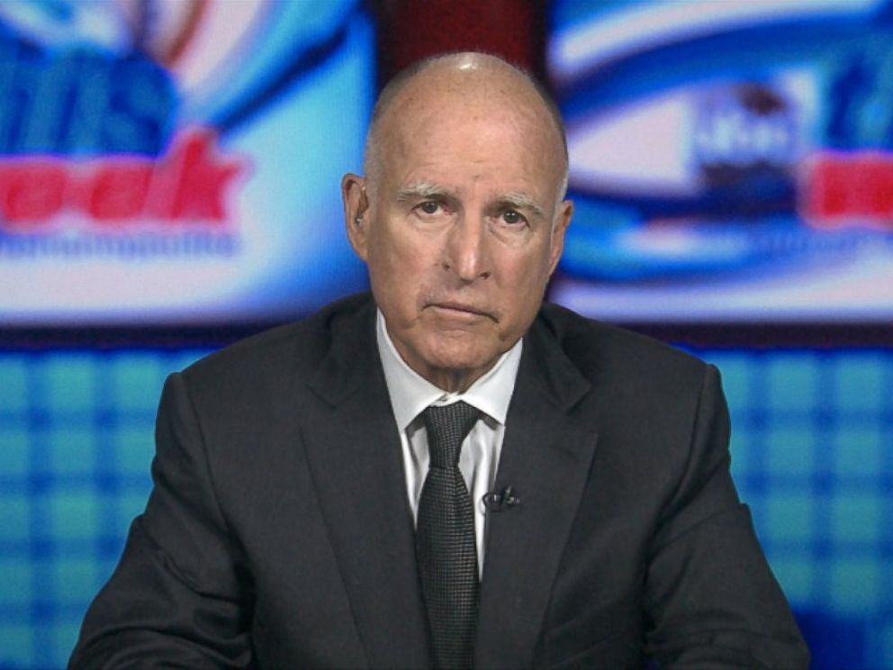 PHOTO: Gov. Jerry Brown on This Week
