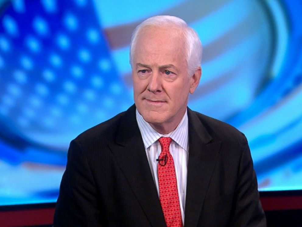 PHOTO: Sen. John Cornyn (R) Texas on This Week