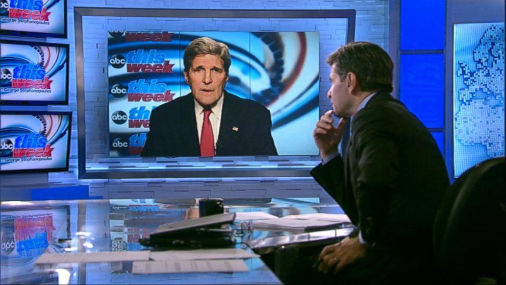 This Week' Transcript: Sec. John Kerry and PM Benjamin Netanyahu