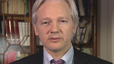 PHOTO: WikiLeaks Founder Julian Assange on This Week