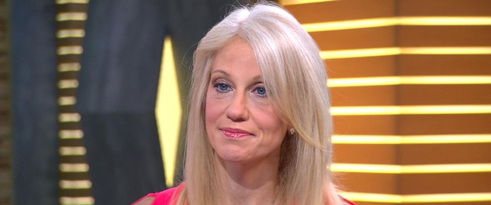"PHOTO: Kellyanne Conway is seen here on ""Good Morning America,"" Aug. 26, 2016."