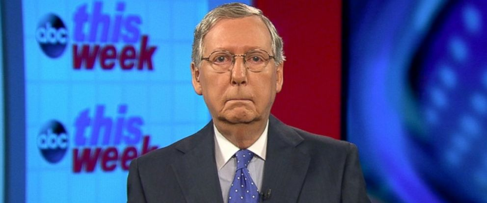PHOTO: Senate Majority Leader Mitch McConnell on This week