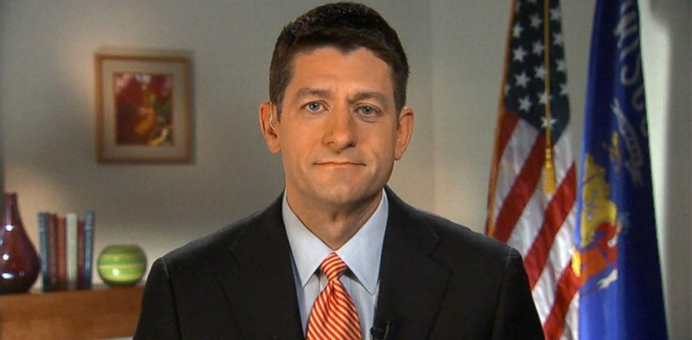 PHOTO: Representative Paul Ryan (R) Wisconsin on This Week