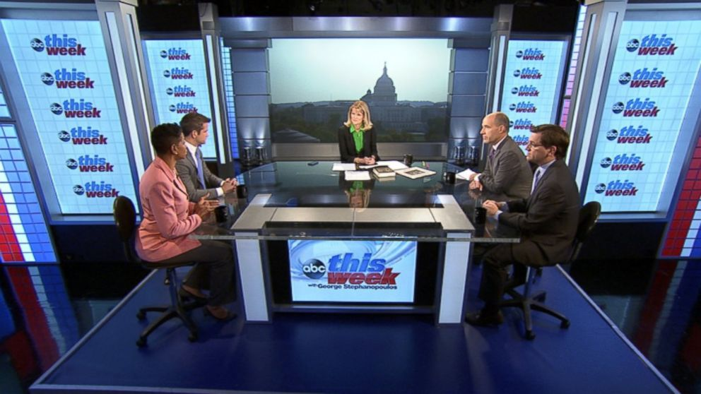 Representative Donna Edwards (D) Maryland, Representative Adam Kinzinger (R) Illinois, New York Times White House Correspondent Peter Baker, ABC News Political Analyst and Special Correspondent Matthew Dowd on 'This Week'