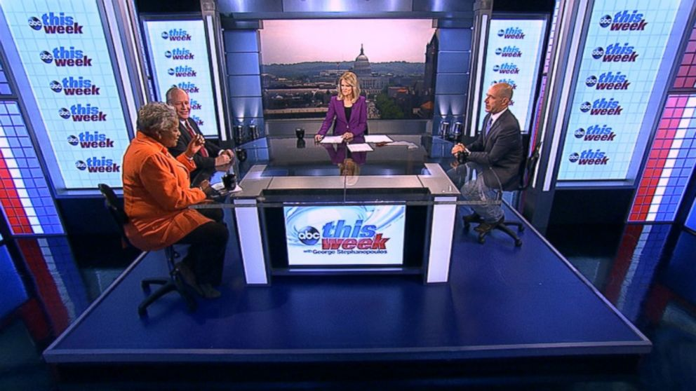 ABC News Contributor and Democratic Strategist Donna Brazile, ABC News Contributor and The Weekly Standard Editor Bill Kristol and ABC News Political Analyst Matthew Dowd on 'This Week'