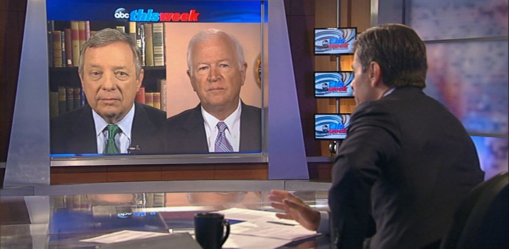 PHOTO: Dick Durban and Saxby Chambliss on This Week