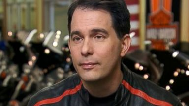 "PHOTO: Gov. Scott Walker, R-Wisconsin, on ABCs ""This Week with George Stephanopoulos."""