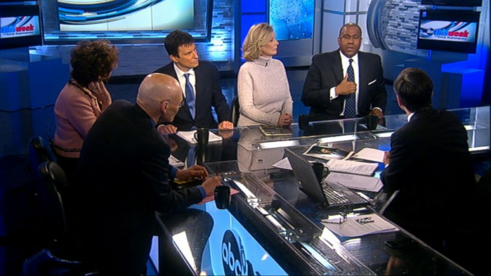 Democratic Strategist James Carville, Republican Strategist Mary Matalin, The Wall Street Journal Columnist Peggy Noonan, The New Yorker Editor David Remnick, and Television and Radio Host Tavis Smiley on 'This Week'