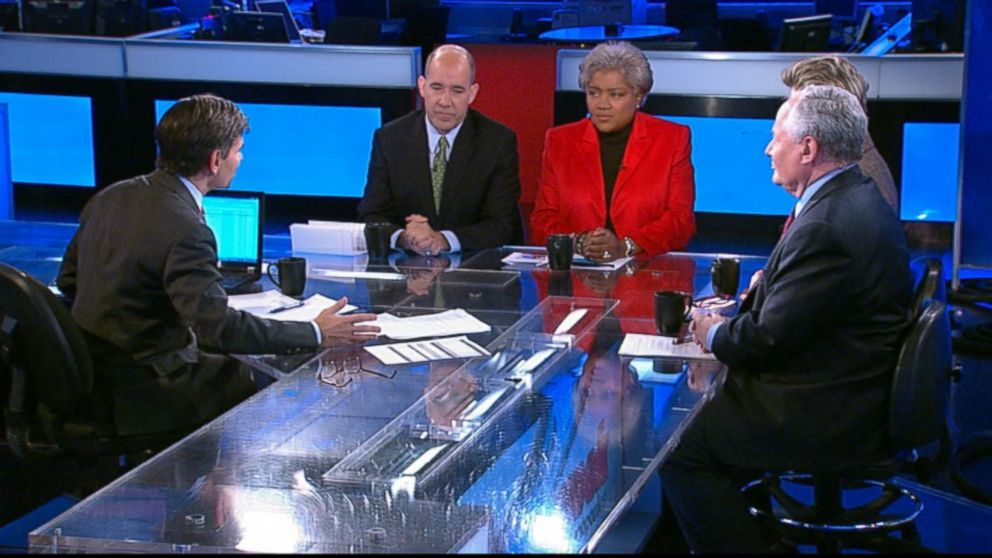 Democratic Strategist and ABC News Contributor Donna Brazile, ABC News Political Analyst and ABC News Special Correspondent Matthew Dowd, The Weekly Standard Editor Bill Kristol, and ABC News' Cokie Roberts on 'This Week'