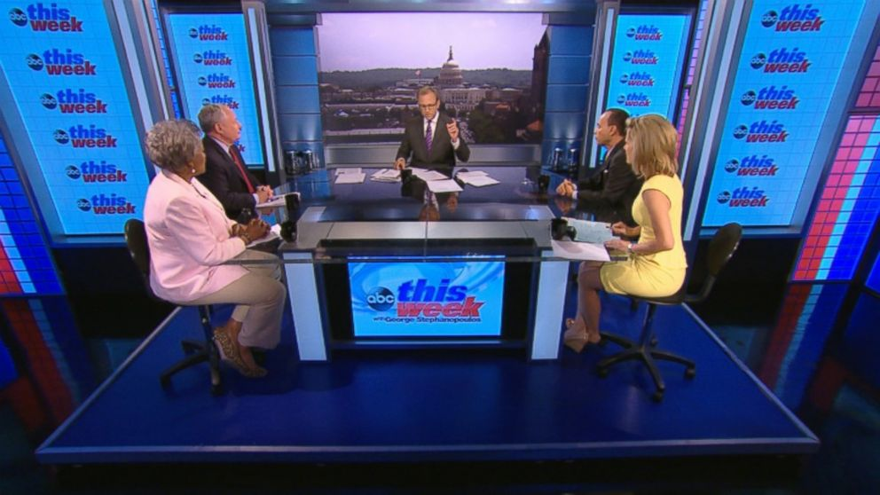 Rep. Luis Gutierrez (D) Illinois, ABC News Contributor and Democratic Strategist Donna Brazile, ABC News Contributor and Syndicated Radio Host Laura Ingraham, and ABC News Contributor and The Weekly Standard Editor Bill Kristol on 'This Week'
