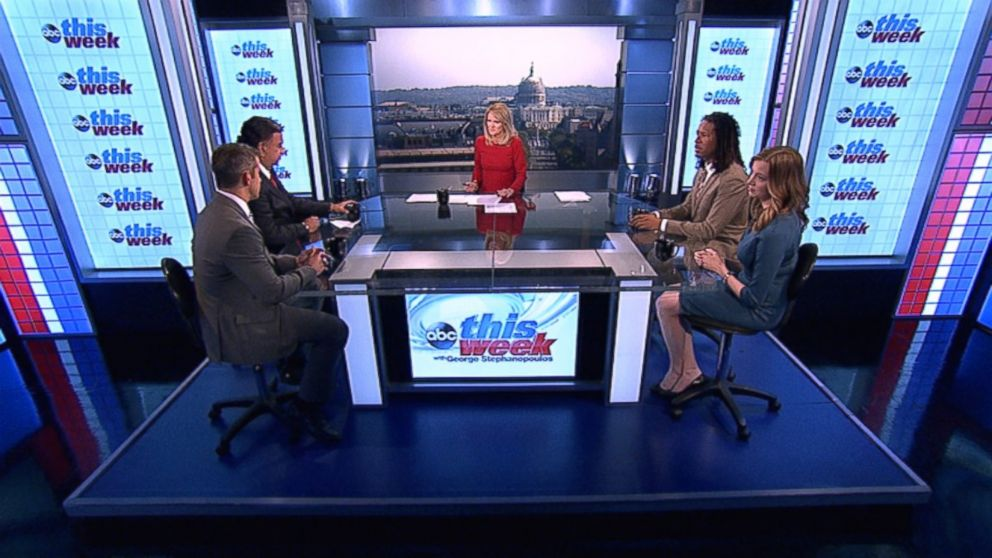 Rep. Adam Kinzinger (R) Illinois, Former New Mexico Governor Bill Richardson, Echelon Insights Co-Founder and The Daily Beast Contributor Kristen Soltis Anderson, and CNN Contributor and ESPN Senior Writer LZ Granderson on 'This Week'