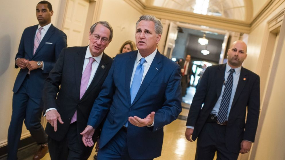 Republicans select House Majority Leader Kevin McCarthy as ...