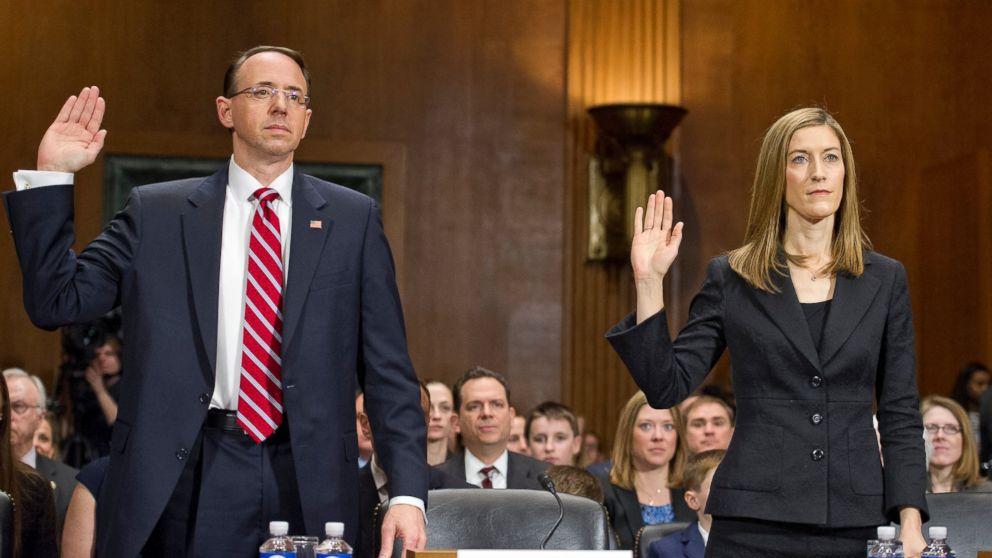 Deputy Attorney General Rod Rosenstein acknowledges he may ...