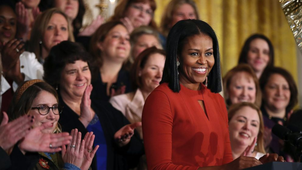 6888f423d3eb ANALYSIS  Michelle Obama Moves on From FLOTUS to Voice of Influence - ABC  News