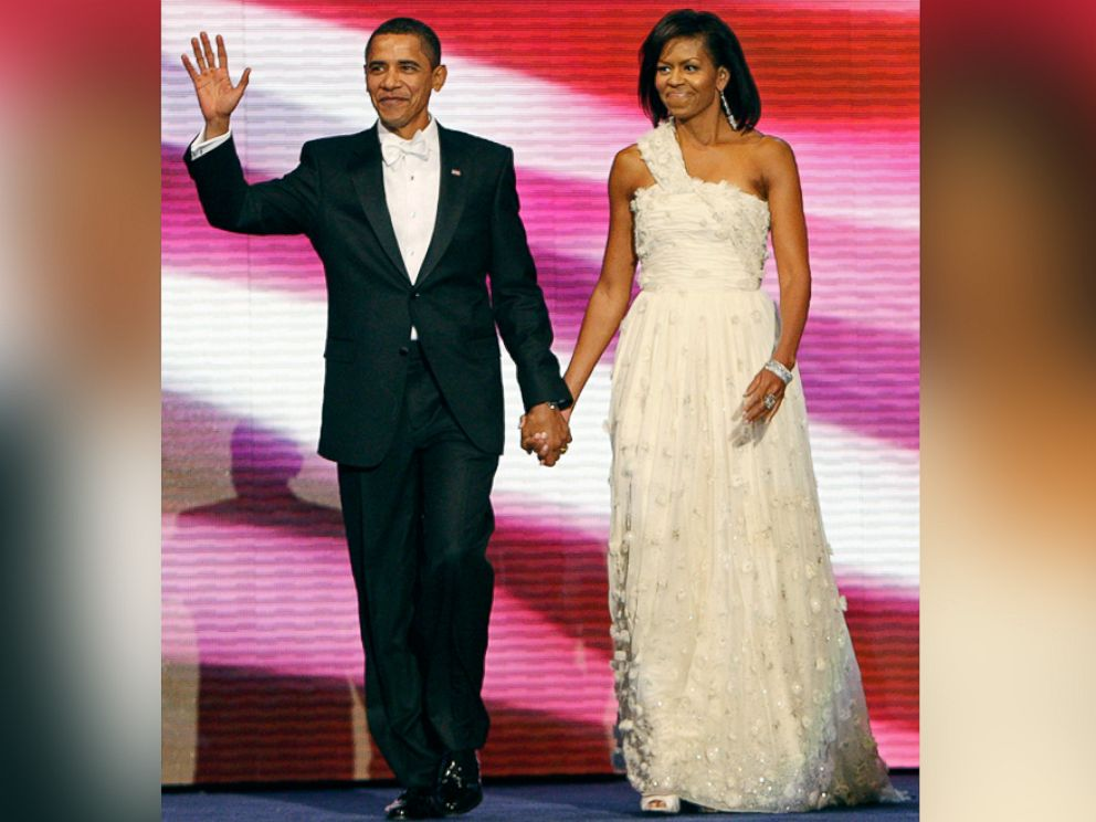 Stunning and Symbolic First Lady Inaugural Fashions Through the ...