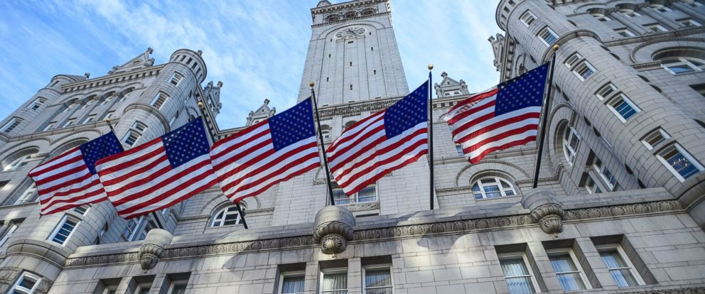 PHOTO: The Trump International Hotel in Washington, D.C. is seen here at the Old Post Office, Nov. 11, 2016.