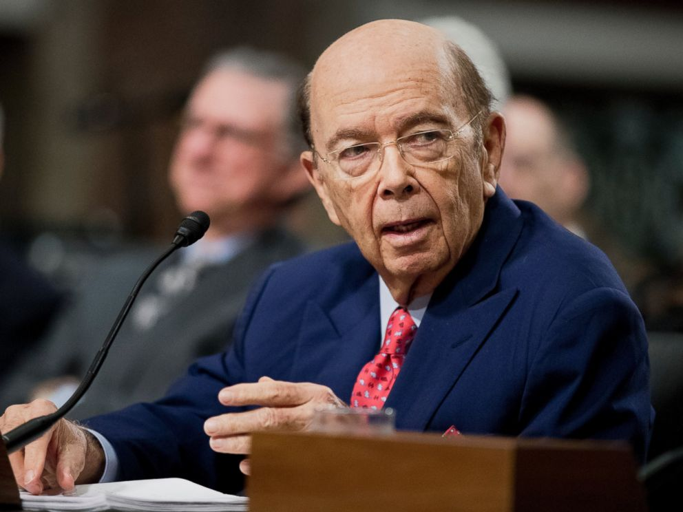 PHOTO: Commerce Secretary-designate Wilbur Ross testifies on Capitol Hill in Washington, Jan. 18, 2017, at his confirmation hearing before the Senate Commerce Committee.