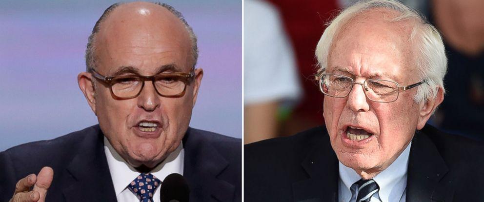 PHOTO: Sen. Bernie Sanders at the Henderson Pavilion, Feb. 20, 2016, in Henderson, Nevada.
