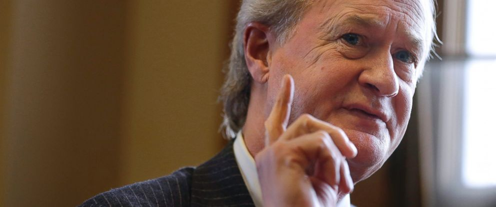 PHOTO: Lincoln Chafee is seen here in this Dec. 11, 2014 file photo.
