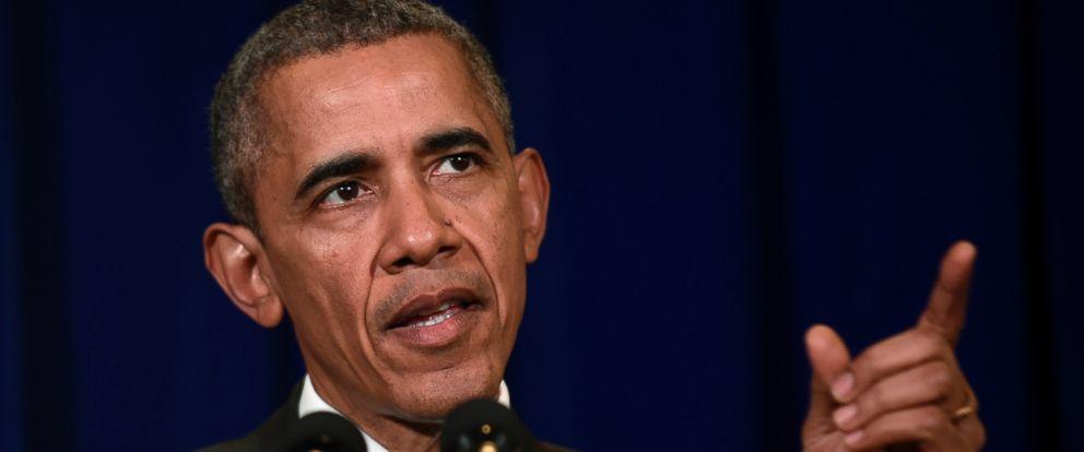 PHOTO: President Barack Obama speaks at a news conference in Kuala Lumpur, Malaysia, Sunday, Nov. 22, 2015.