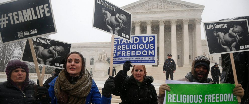 Supreme Court Considers Contraception Mandate
