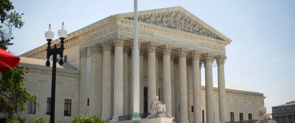 PHOTO: The Supreme Court building is seen in this June 30, 2014 file photo in Washington.