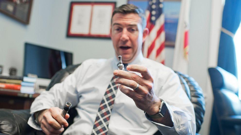 California Congressman Vapes at Committee Hearing - ABC News