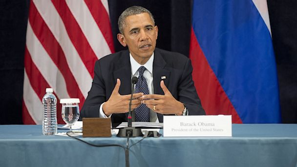 PHOTO: President Obama Speaks In Russia