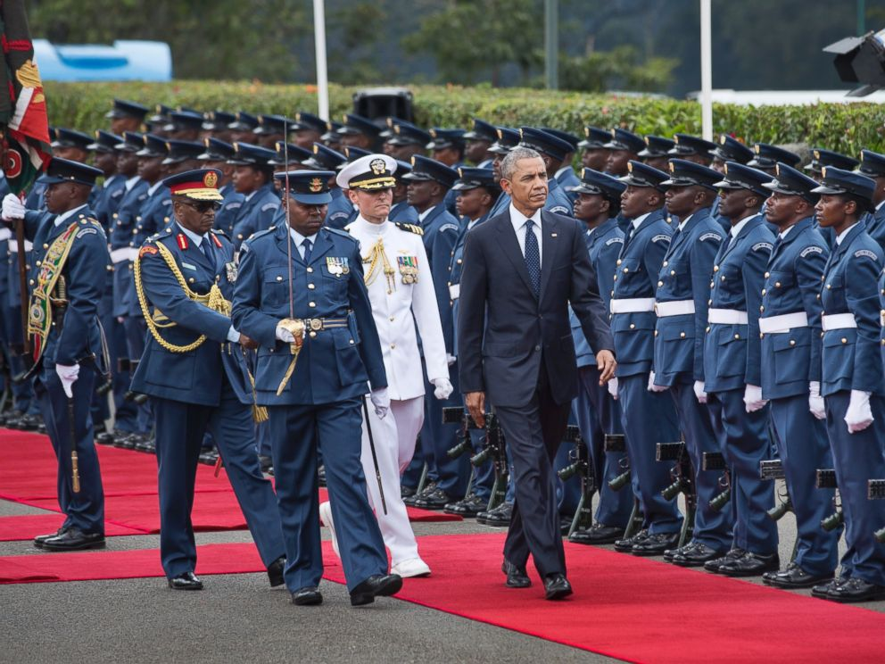 President Obama Kicks Off Personal Trip to Kenya - ABC News