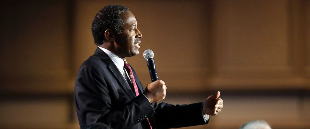 PHOTO: Ben Carson speaks at the National Religious Broadcasters convention, Feb. 26, 2016, in Nashville, Tenn.