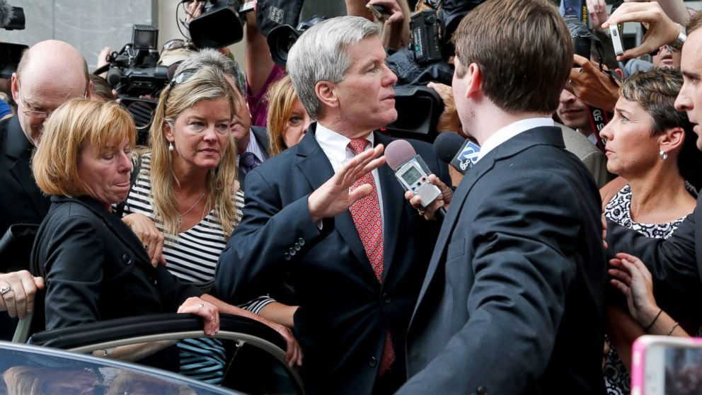 Virginia Gov. Bob McDonnell Guilty of Corruption, Jury ...