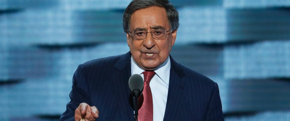 PHOTO: Former Defense Secretary Leon Panetta, speaks during the third day of the Democratic National Convention in Philadelphia, July 27, 2016.